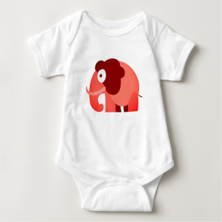 Body Para Bebê O elefante impresso veste-se