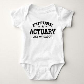 Body Para Bebê O escrivão futuro gosta de meu pai
