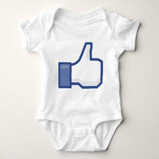 Body Para Bebê o facebook GOSTA de me de manusear acima!