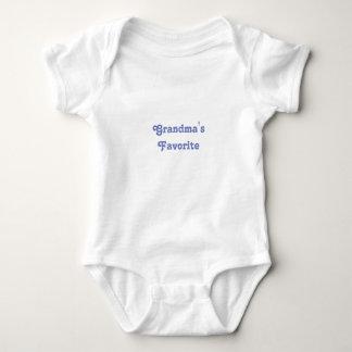 Body Para Bebê O favorito da avó