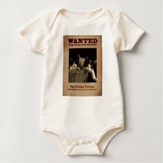 Body Para Bebê O Felines Frisky