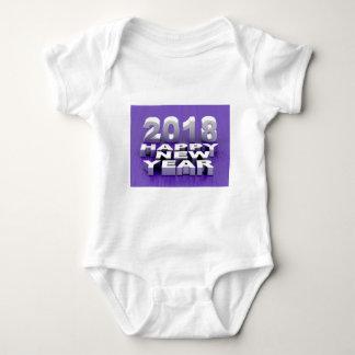 Body Para Bebê O feliz ano novo 2018