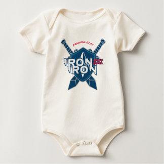 Body Para Bebê O ferro do 27:17 dos provérbio Sharpens o ferro