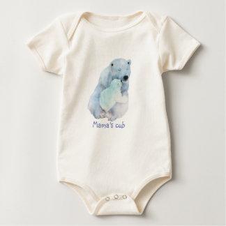 Body Para Bebê O filhote do Mama uma parte
