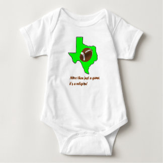 Body Para Bebê O futebol em Texas é religião