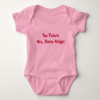 Body Para Bebê O FutureMrs. Cavaleiro de Dante