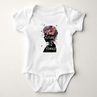 Body Para Bebê O futuro é fêmea - bodysuit do bebê