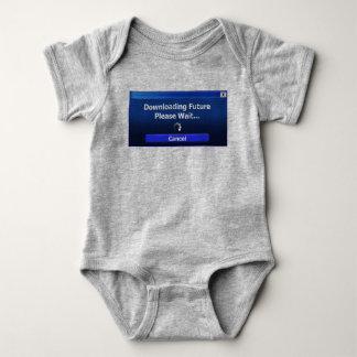 Body Para Bebê O futuro está transferindo