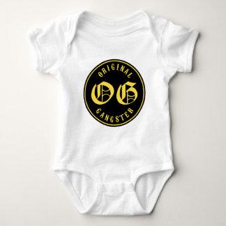 Body Para Bebê O.G. Gângster original