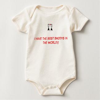Body Para Bebê O gay parents o melhor daddys.