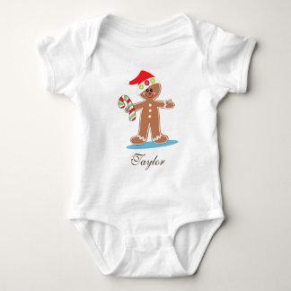 Body Para Bebê O homem de pão-de-espécie personaliza