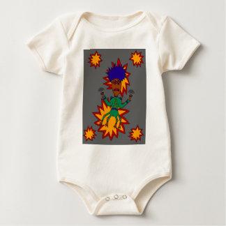 Body Para Bebê O homem marciano do jazz