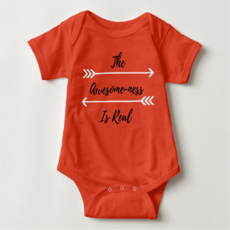 Body Para Bebê O Impressionante-Ness é Onsie real