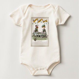 Body Para Bebê o irlandês ostenta peritos