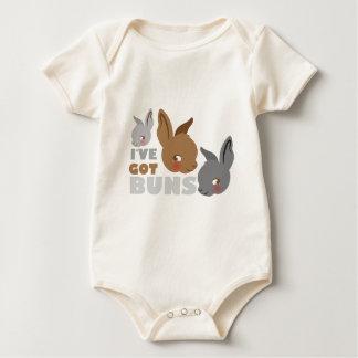 Body Para Bebê o ive obteve bolos (os coelhos de coelho bonitos)