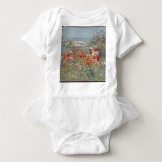 Body Para Bebê O jardim de Celia Thaxter, ilhas dos bancos de