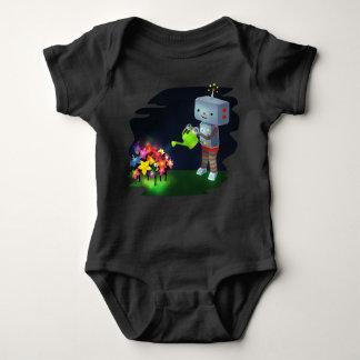 Body Para Bebê O jardim do robô