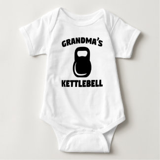 Body Para Bebê O Kettlebell da avó
