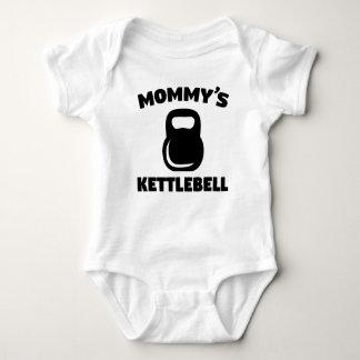 Body Para Bebê O Kettlebell da mamã