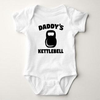Body Para Bebê O Kettlebell do pai