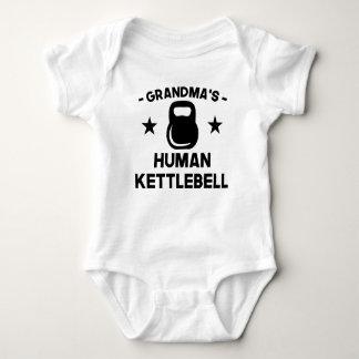 Body Para Bebê O Kettlebell humano da avó