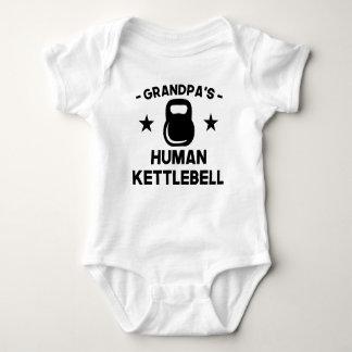 Body Para Bebê O Kettlebell humano do vovô
