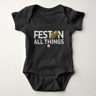 Body Para Bebê O kitsch Bitsch™: Festoon todas as coisas