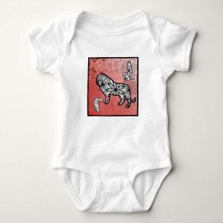 Body Para Bebê O leão, Toucan meus melhores amigos é tshirt