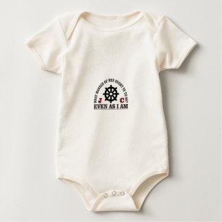 Body Para Bebê o leme seja como o jc