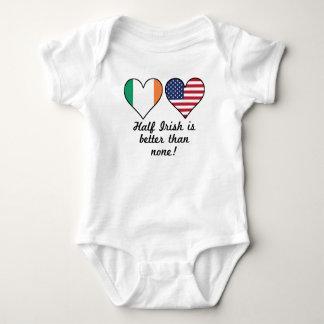 Body Para Bebê O meio irlandês é melhor do que nenhuns