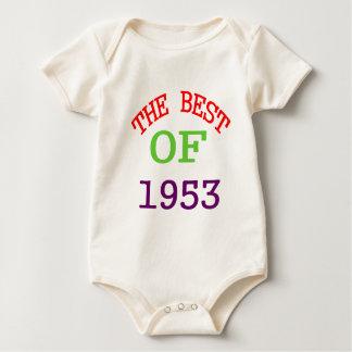 Body Para Bebê O melhor de 1953