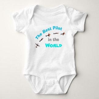 Body Para Bebê O melhor piloto no mundo