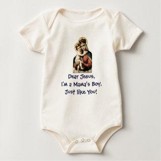 Body Para Bebê O Menino Como Jesus do Mama, criança