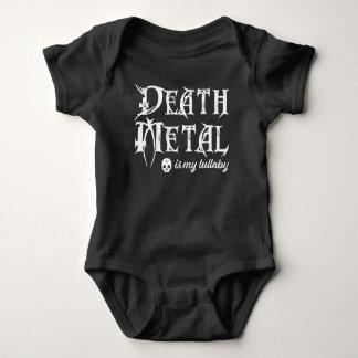 Body Para Bebê O metal da morte é minha canção de ninar