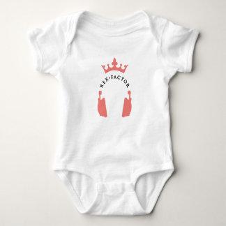 Body Para Bebê O mini bebê do fã de Rex cresce