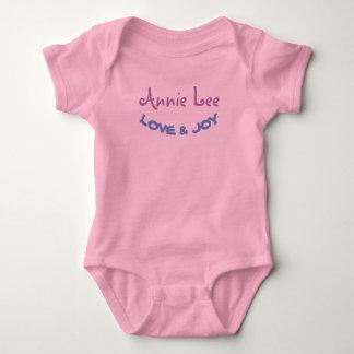 Body Para Bebê O MONOGRAMA personaliza o terno do corpo do bebê