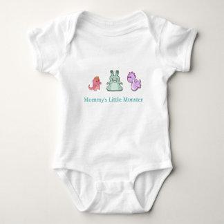 Body Para Bebê O monstro pequeno da mamã