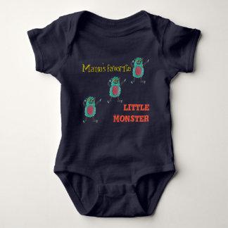 Body Para Bebê O monstro pequeno favorito do Mama…