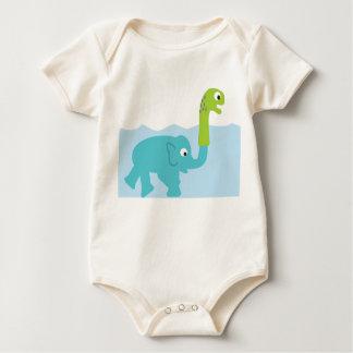 Body Para Bebê o monstro real de Loch Ness!