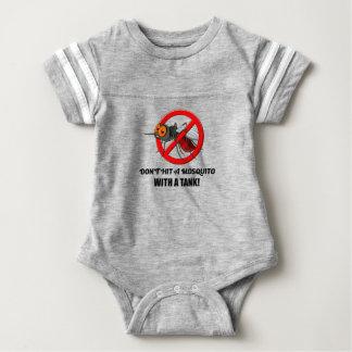 Body Para Bebê o mosquito não o bate com um tanque