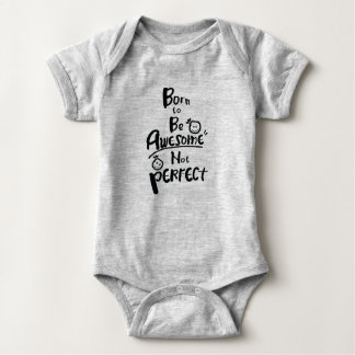 Body Para Bebê O nascer a ser impressionante não aperfeiçoa