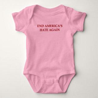 Body Para Bebê O ódio de América da extremidade outra vez