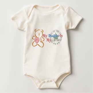 Body Para Bebê O pai é meu herói (o exército)