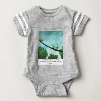 Body Para Bebê O pássaro cortou o cabo