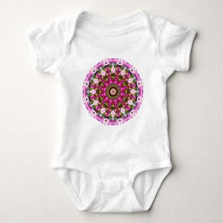 Body Para Bebê O primavera floresce, pica, Flor-Mandala, natureza