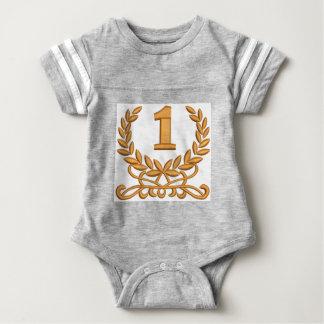 Body Para Bebê o primeiro - a imitação do bordado de máquina