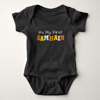 Body Para Bebê O primeiro Samhain do bebê