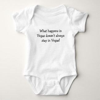 Body Para Bebê O que acontece em Vegas não permanece sempre na