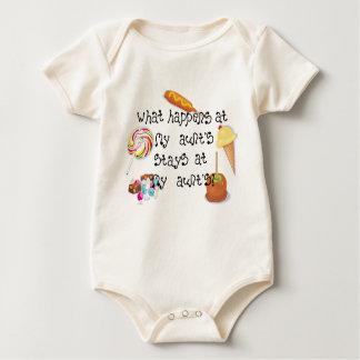 Body Para Bebê O que acontece na PERMANÊNCIA da minha tia em