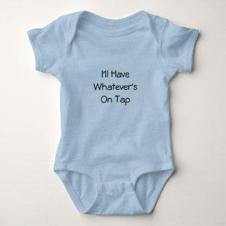 Body Para Bebê O que quer que na torneira
